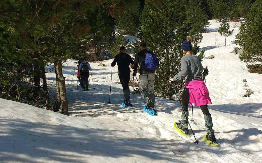 Raquetas de Nieve Pirineos